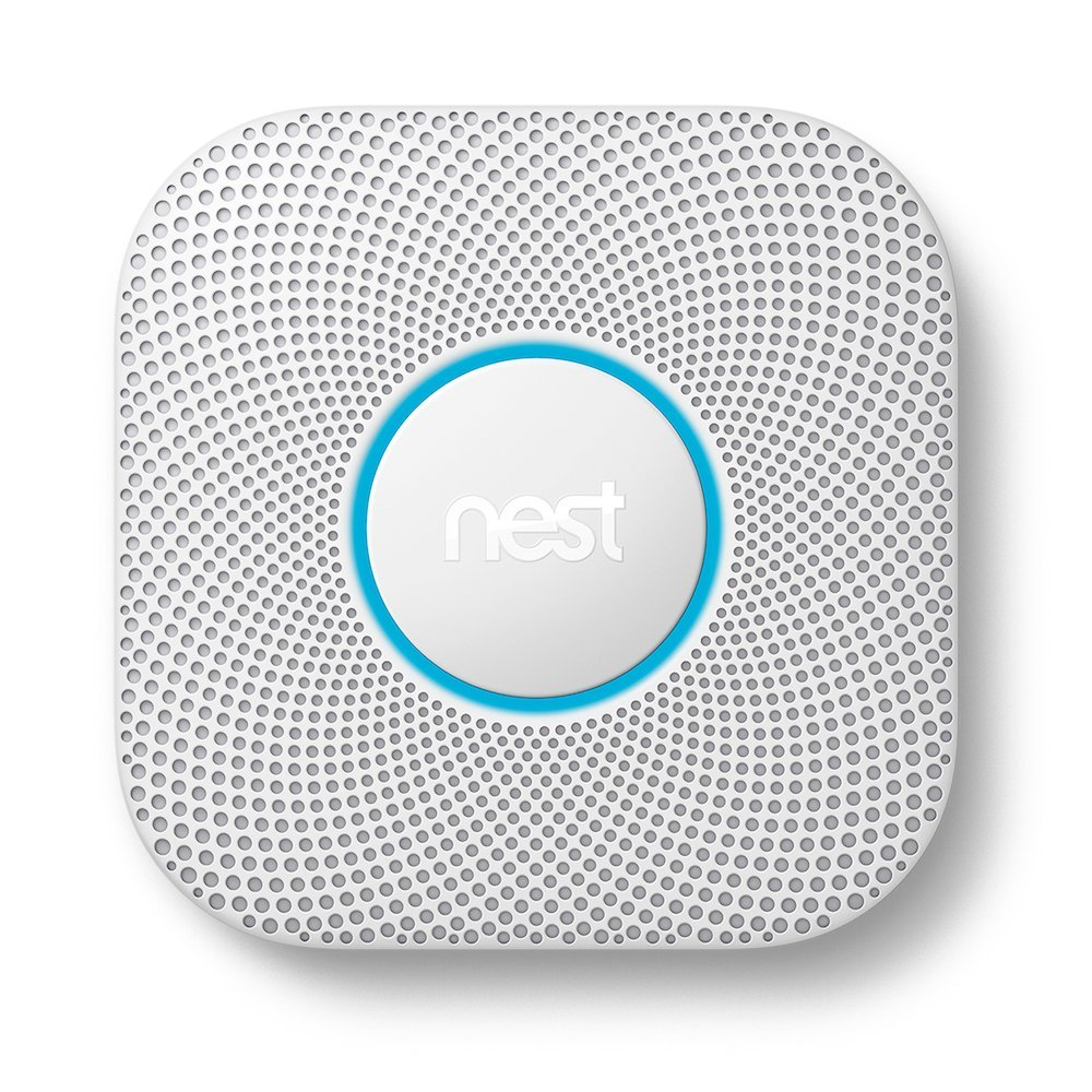 Nest Protect Smoke + Carbon Monoxide Detector – Wifi Battery Alerts, Connected App, Heads-up