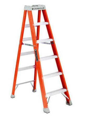 Louisville Ladders' Fiberglass Stepladder