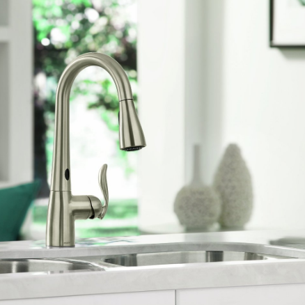Moen Arbor One-Handle High Arc Pulldown Kitchen Faucet