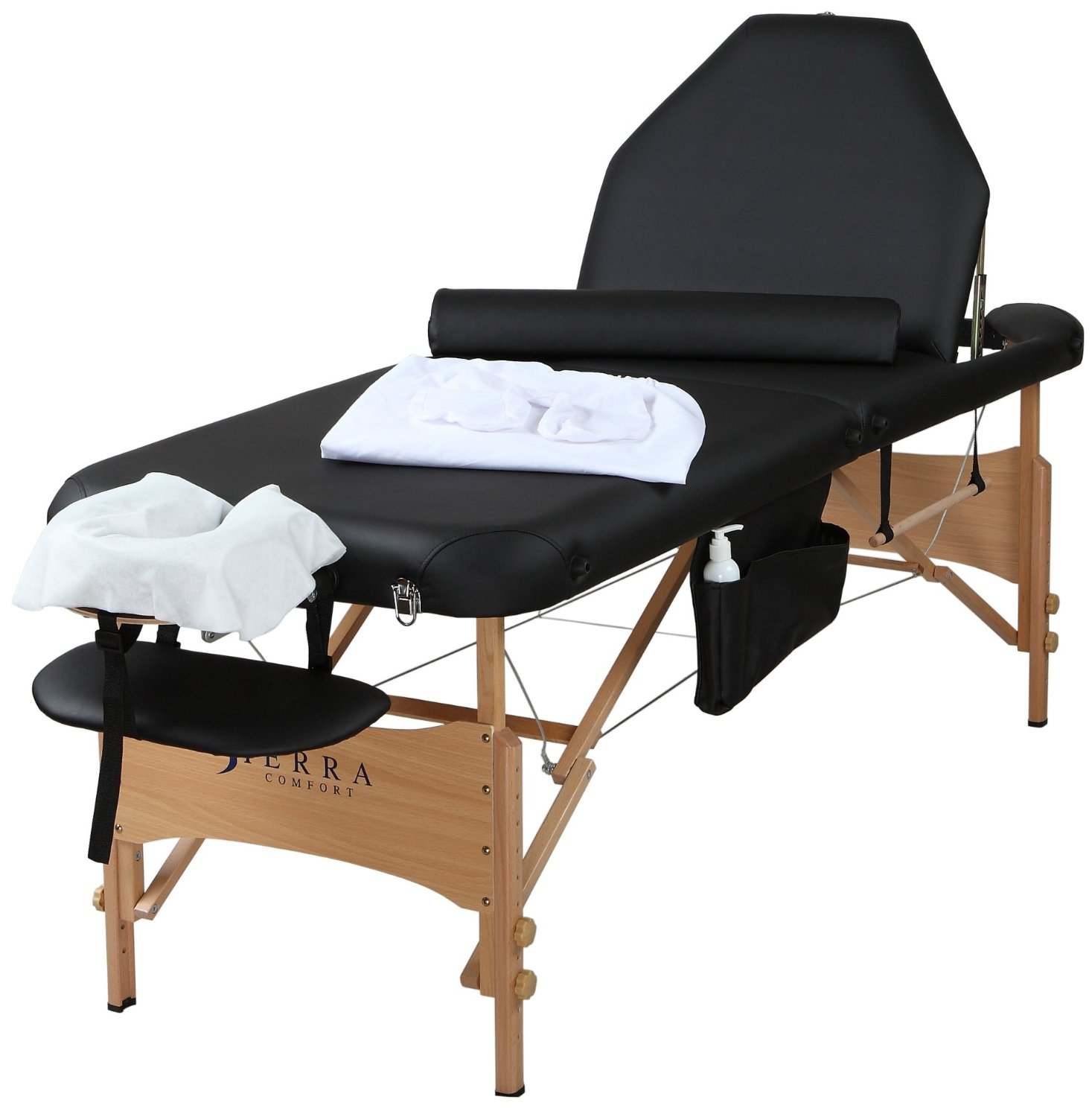 Sierra Comfort SC-903 Adjustable Back Rest Portable Massage Package