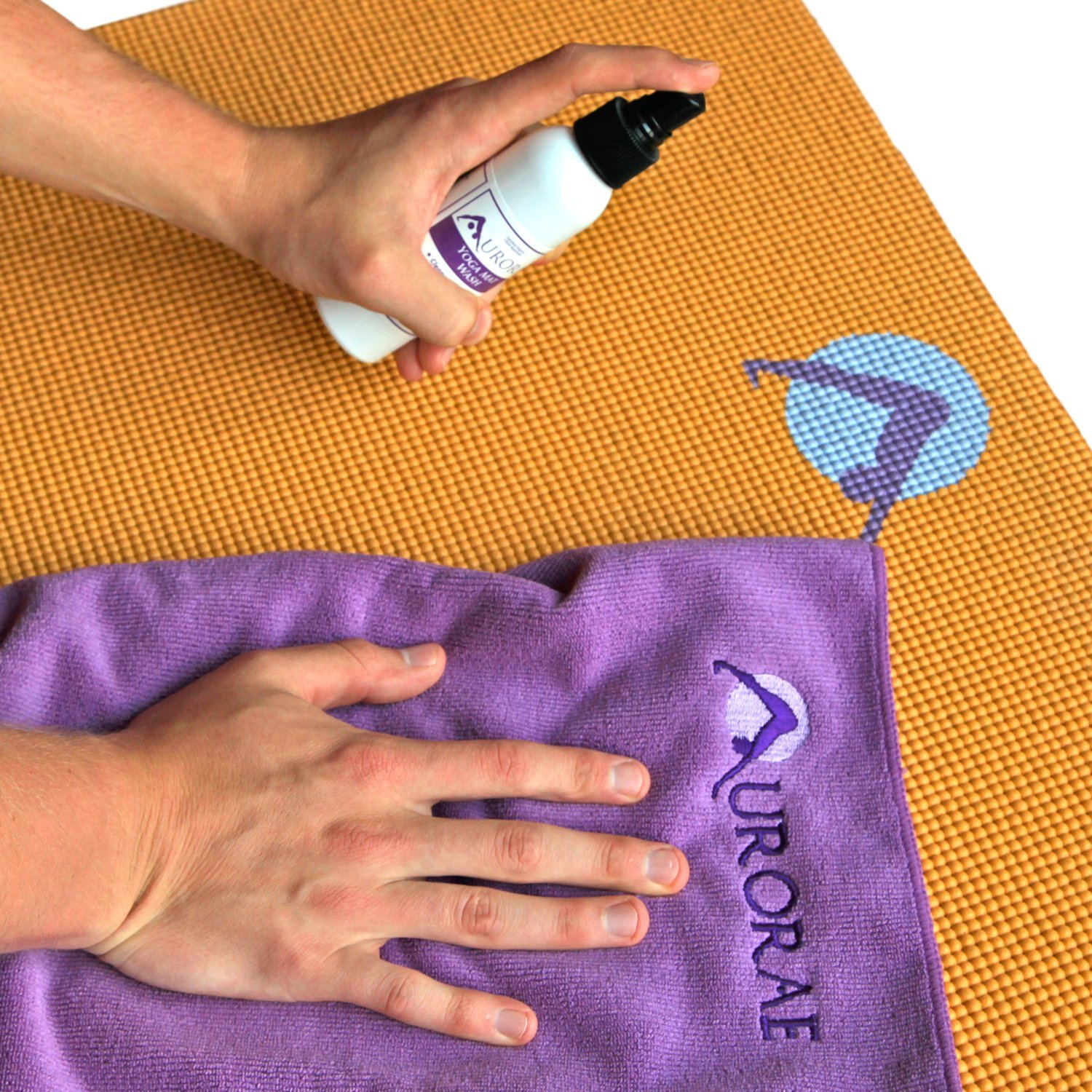 Aurorae Organic Yoga and Exercise Mat Spray Cleaner Spray