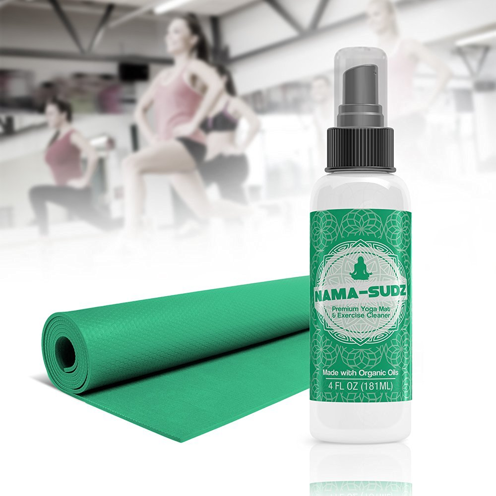 K3 Products Nama-Sudz Premium Exercise and Yoga Mat Spray Cleaner