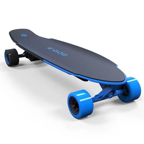Yuneec Motorized Skateboard – Variable Speed Longboard with Wireless Remote Controller, Smartphone Sync, 3 Color Choices