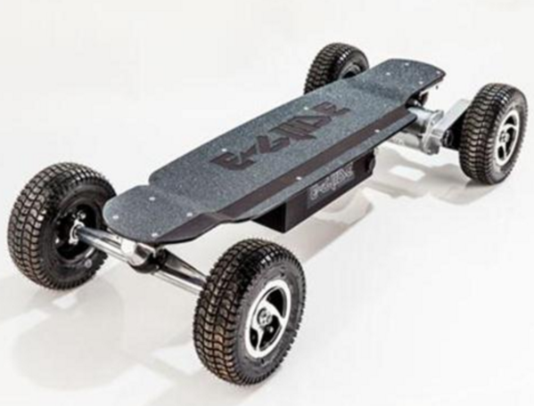 eGlide GT Powerboard - Black Anodized Off Road Electric Skateboard