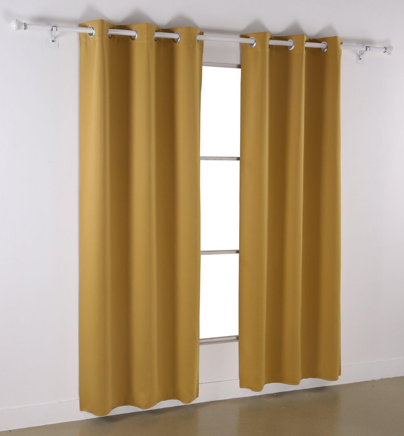 Deconovo Room Darkening Thermal Insulated Blackout Curtains – Single Panel