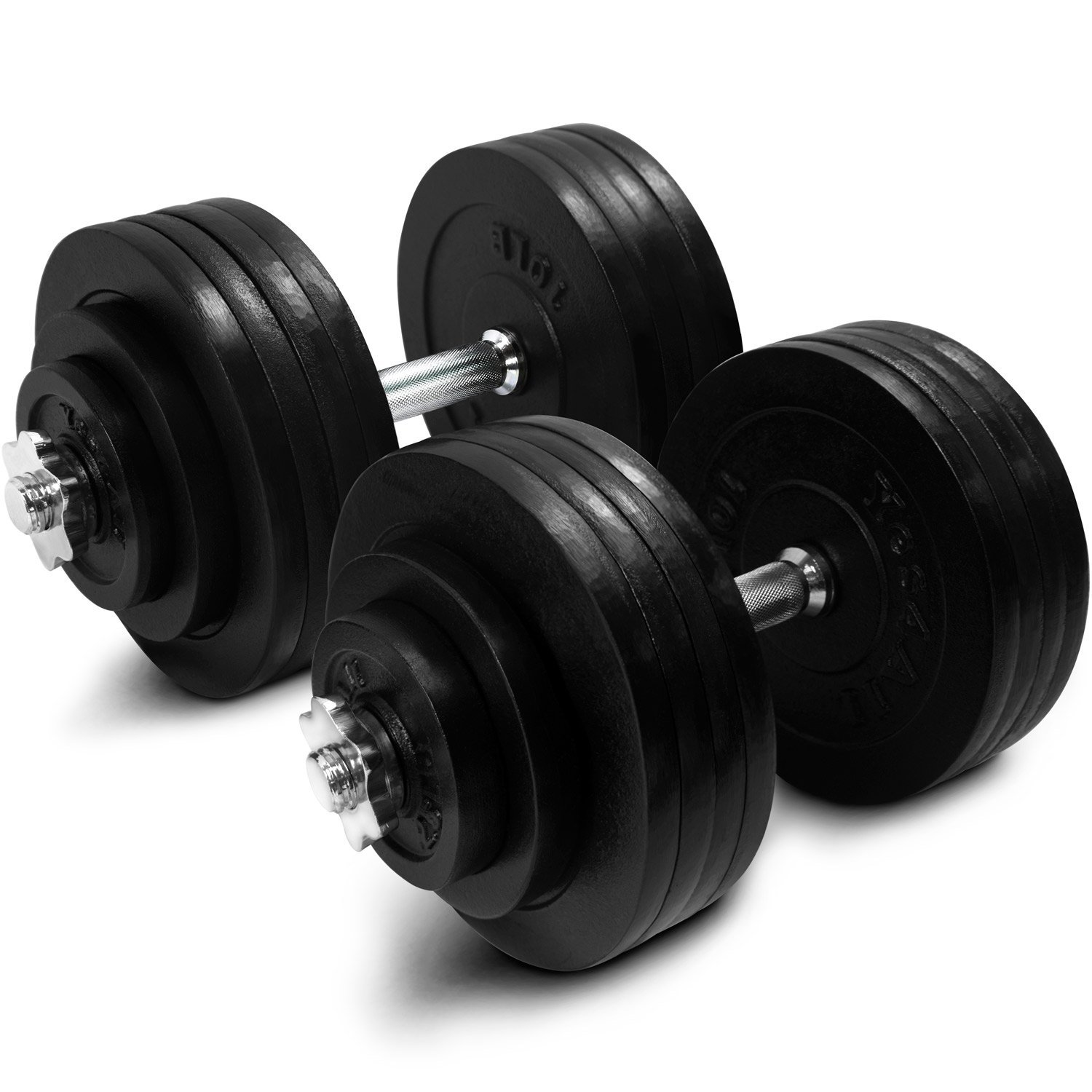 Yes4All Cast Iron Adjustable Dumbbells