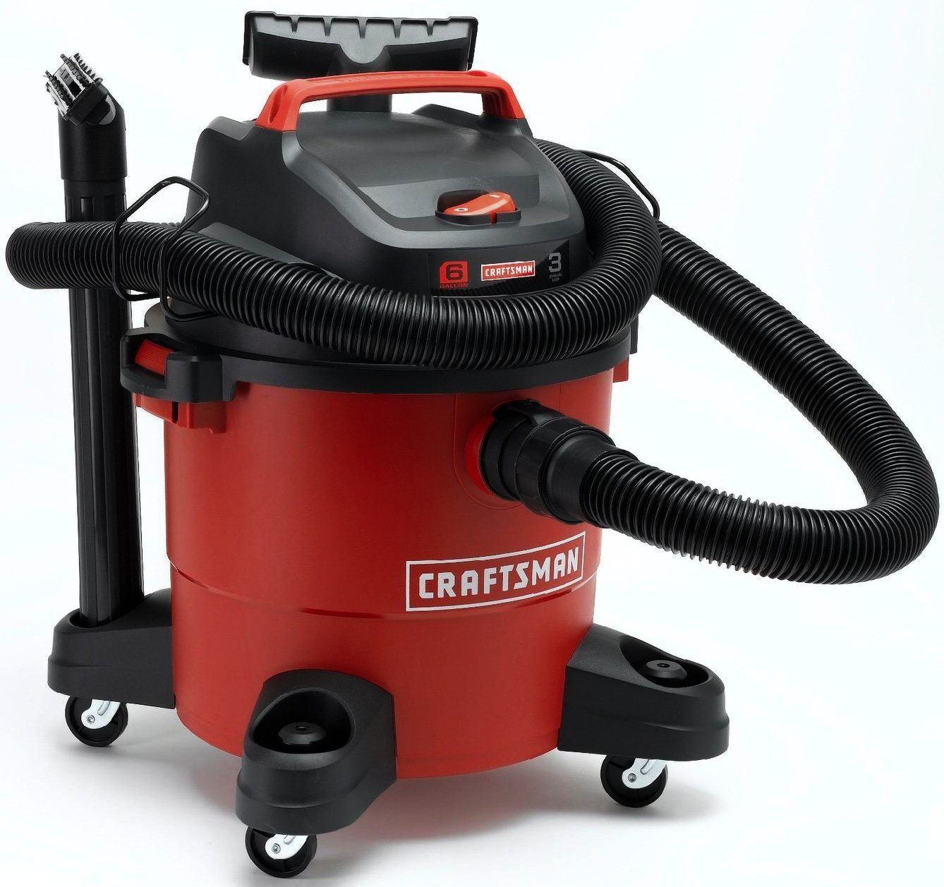 Craftsman 6 Gallon 3 Peak HP Wet/Dry Vacuum 12004