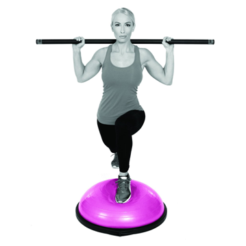 BOSU Ball Home Balance Trainer with Hand Pump