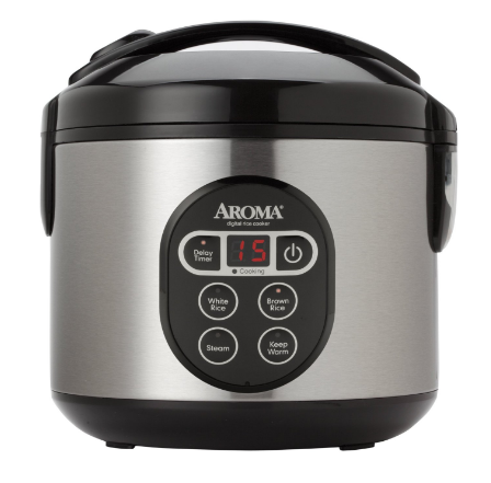 Aroma 8-Cup Rice Cooker/Steamer