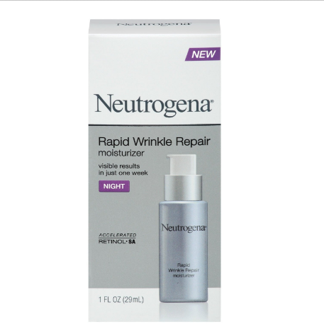 Neutrogena Rapid Wrinkle Repair® Night Moisturizer with Retinol SA
