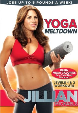 Jillian Michaels Yoga Meltdown Instructional Yoga Video – Level 1 & 2 Workout