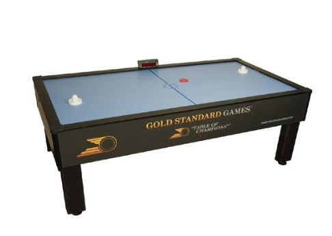 Gold Standard Games Home Pro Elite Air Hockey Table -  7 Full Size Air Hockey Table with Electronic Scoring
