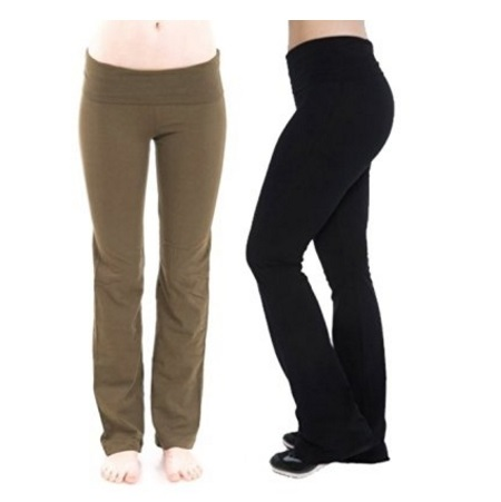 Zenana Outfitters Fold Over Yoga Leggings