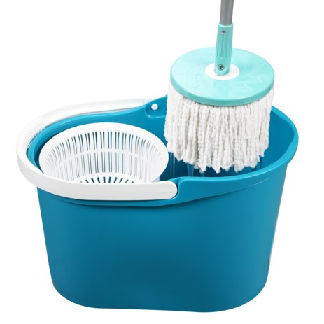 Spin & Go Pro Mop with Single Micro Fiber Mop Head