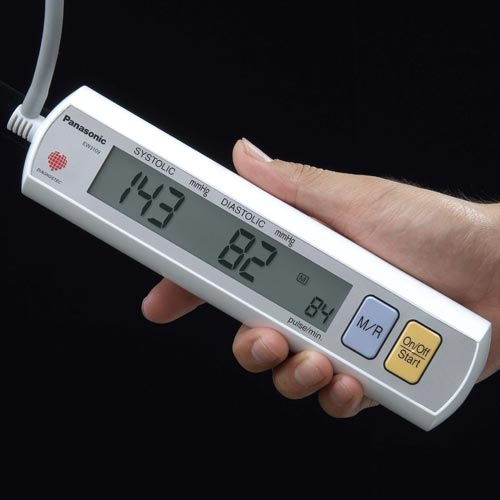 Panasonic EW3109W Portable Upper Arm Blood Pressure Monitor