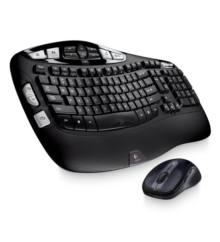 Logitech Mk550 Wave Wireless Combo Keyboard/Mouse