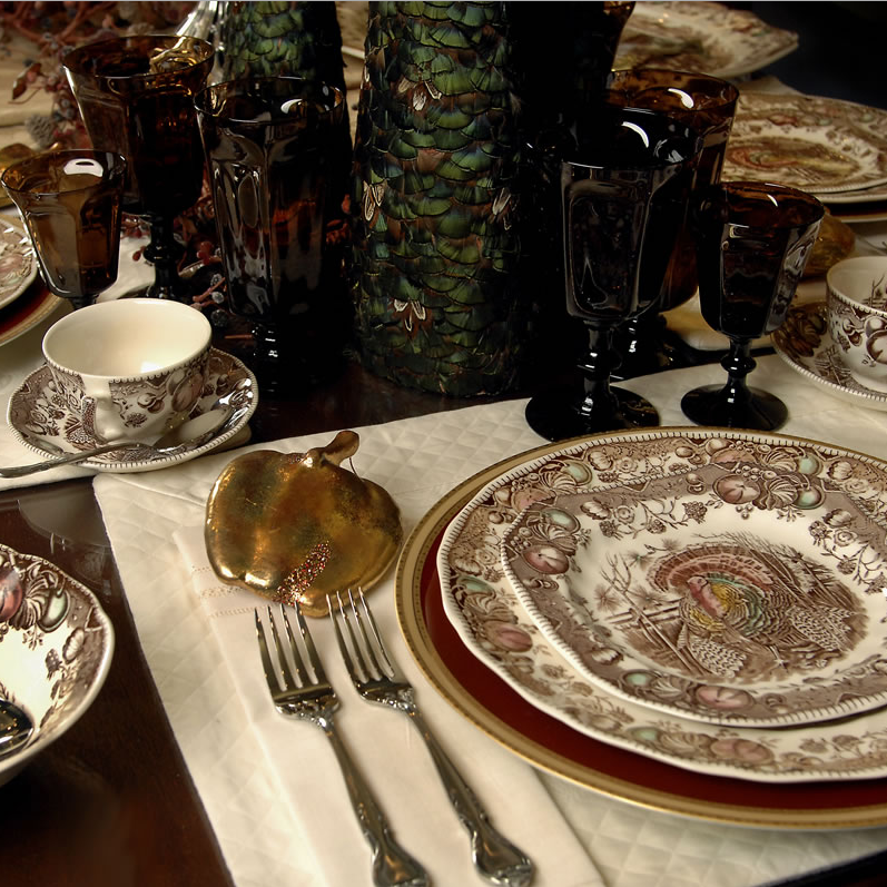 Johnson Brothers His Majesty Dinnerware Set for Thanksgiving