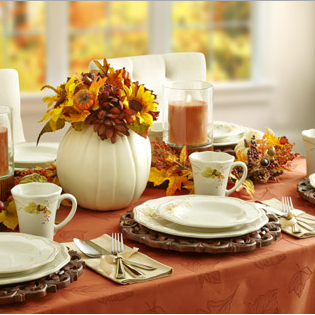 Platzgraff Plymouth Dinnerware Set for Thanksgiving