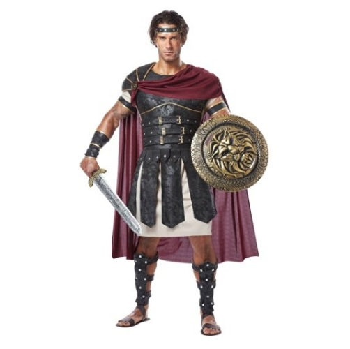 California Costumes Adult Men's Roman Gladiator Costume with Body Armor, Medallion and Accessories (Shield & Sword Sold Separate)