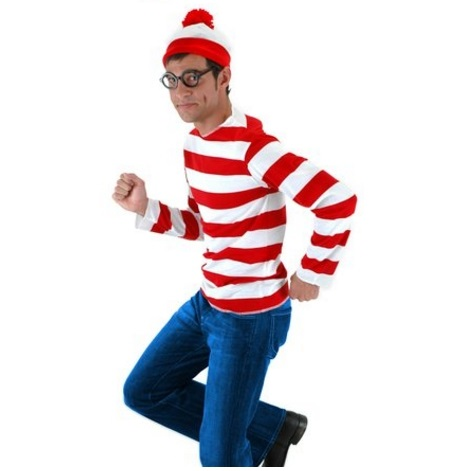 Elope Halloween Costumes for Men - Where's Waldo (Just to Name One of Many)