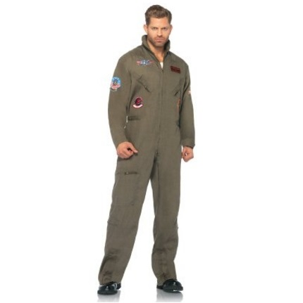 Leg Avenue Halloween Costumes for Men - Top Gun (Plenty More to Choose From)