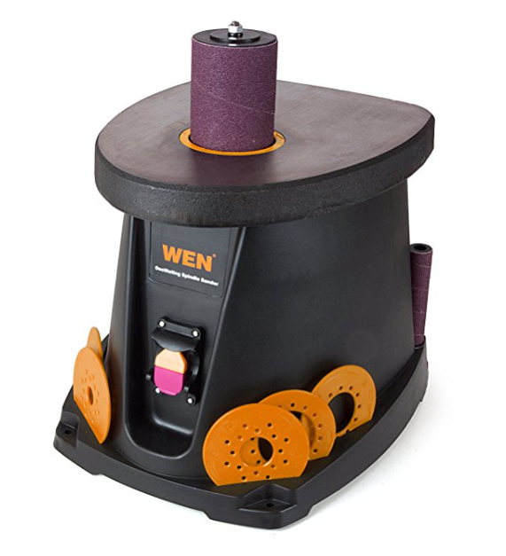 WEN 6510 Oscillating Spindle Sander – Also Available as Belt & Spindle Sander