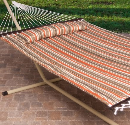 Island Bay 13' Quilted Hammock & Stand