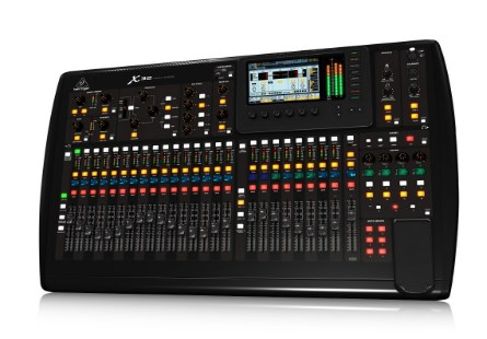 Behringer X32 Digital Audio Mixer with 32 Programmable MIDAS Preamps