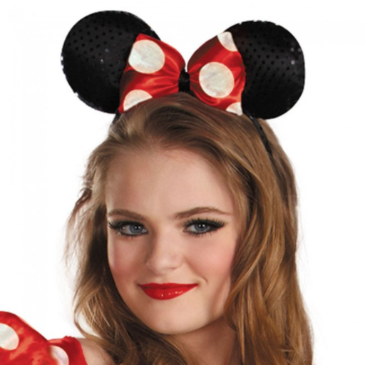 Disguise Women's Red Minnie Mouse Classic Costume