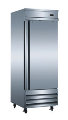 "SABA Air CFD-1RR 29"" One Section Solid Door Reach in Refrigerator -"