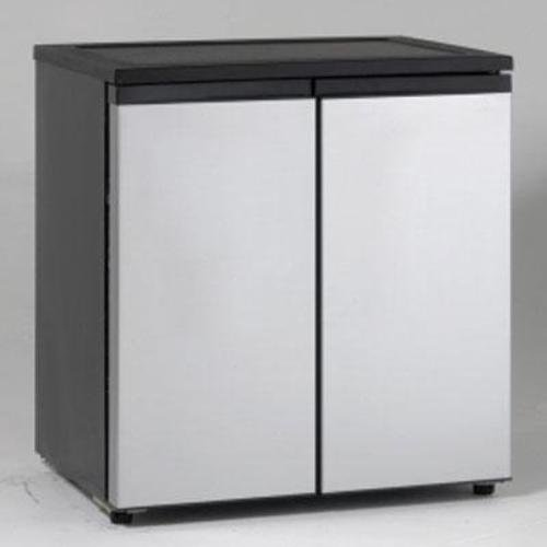 Avanti RMS550PS Compact Side-By-Side Refrigerator/Freezer
