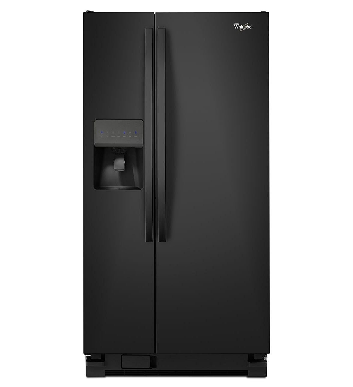 Whirlpool 22 Cu. Ft Side-By-Side Refrigerator w/ Adaptive Defrost and Electronic Temperature Control, Energy Star Compliant