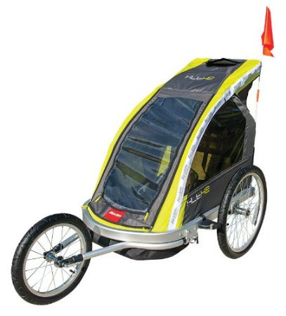 Allen Sports Premier 2-Child Aluminum Bike Trailer/Racing Stroller