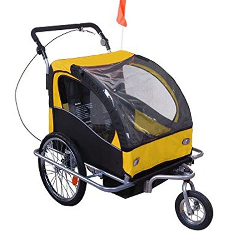 Aosom Elite II Double Child Bike Trailer