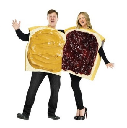 Fun World Halloween Costumes for Couples – Peanut Butter & Jelly (& Other Couple's Options)