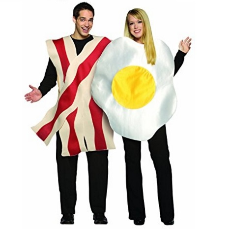 Rasta Imposta Halloween Costumes for Couples – Bacon & Eggs and Other Combinations