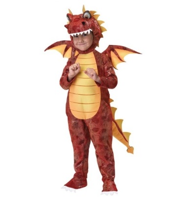California Costumes Fire Breathing Dragon Toddler Costume – Available in Children's Sizes 3-4 & 4-6