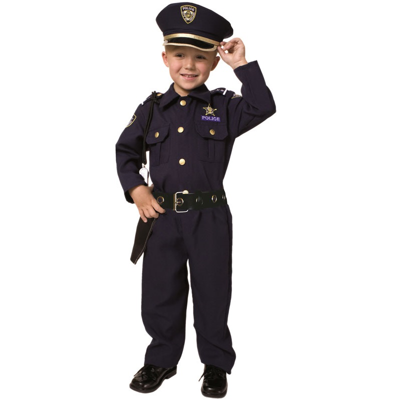 Dress Up America Halloween Costumes for Children – Police (And Other Costumes)
