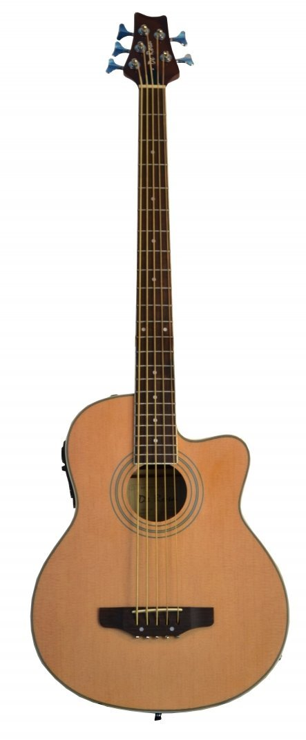 Directly Cheap Cutaway Acoustic Electric Bass Guitar