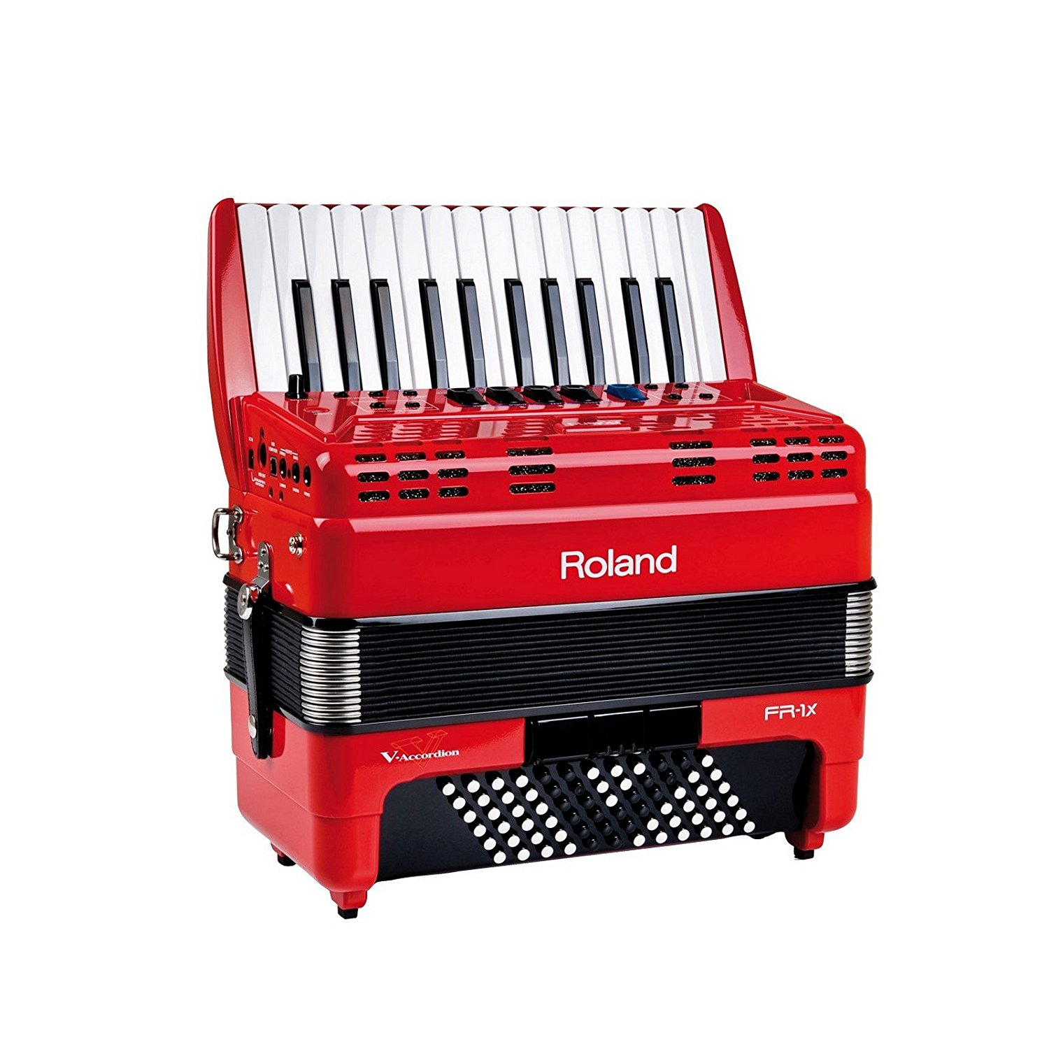 Roland FR-1x Piano Accordion – MIDI Accordion (Black or Red)