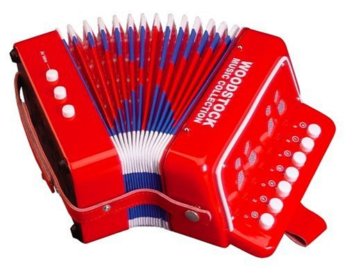 Woodstock Beginner's Button Accordion – Fun Kid's Accordion