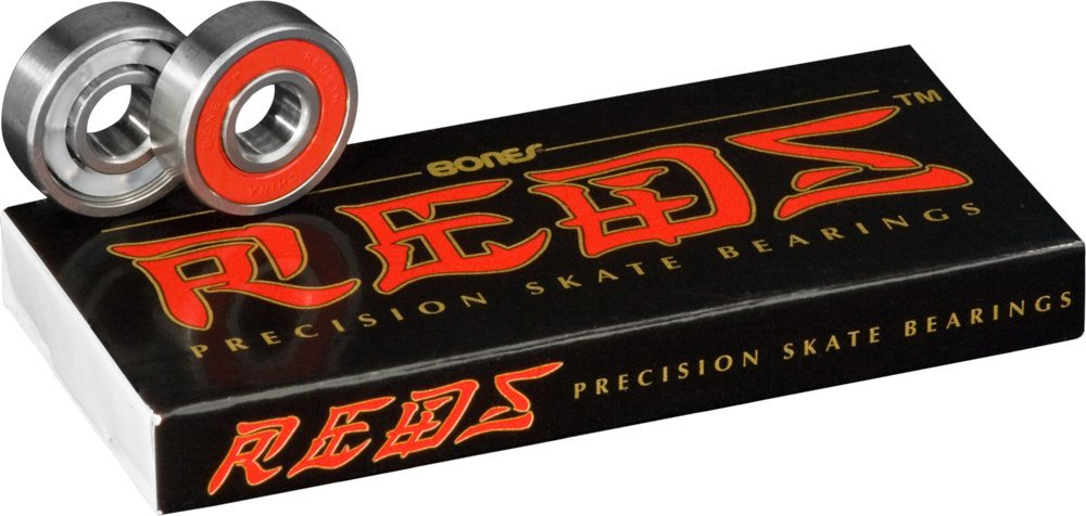 Bones Bearings Reds Bearings for Skateboards