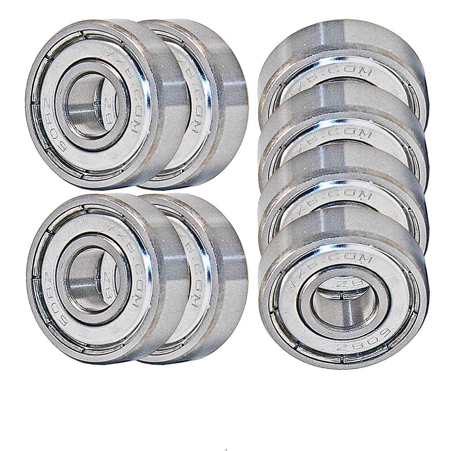 VXB High Performance Skateboard Bearings