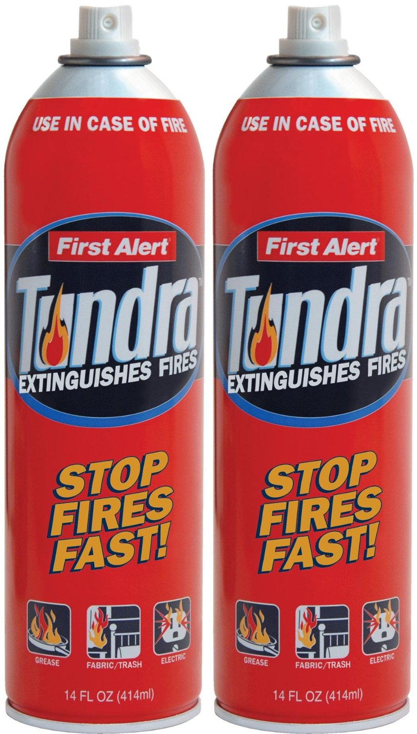 First Alert Tundra Fire Extinguishers