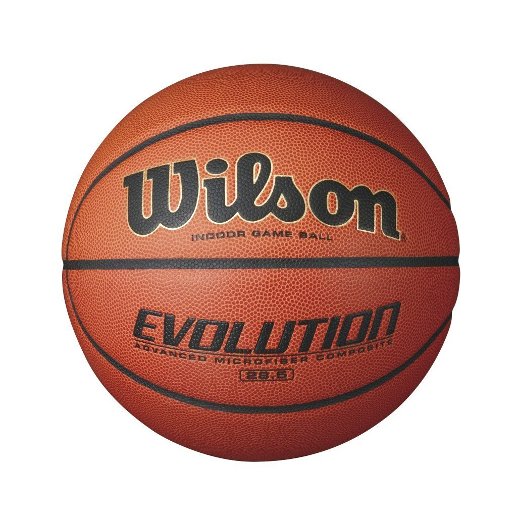 Wilson Evolution Basketball with Superior Grip and Cushioned Core - Available in 2 Sizes