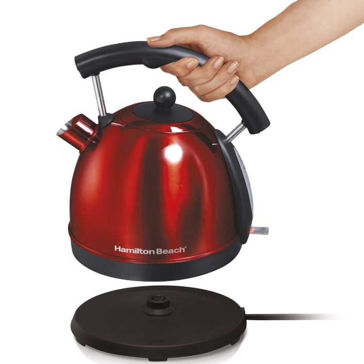 Hamilton Beach Stainless Steel 1.7L Kettle