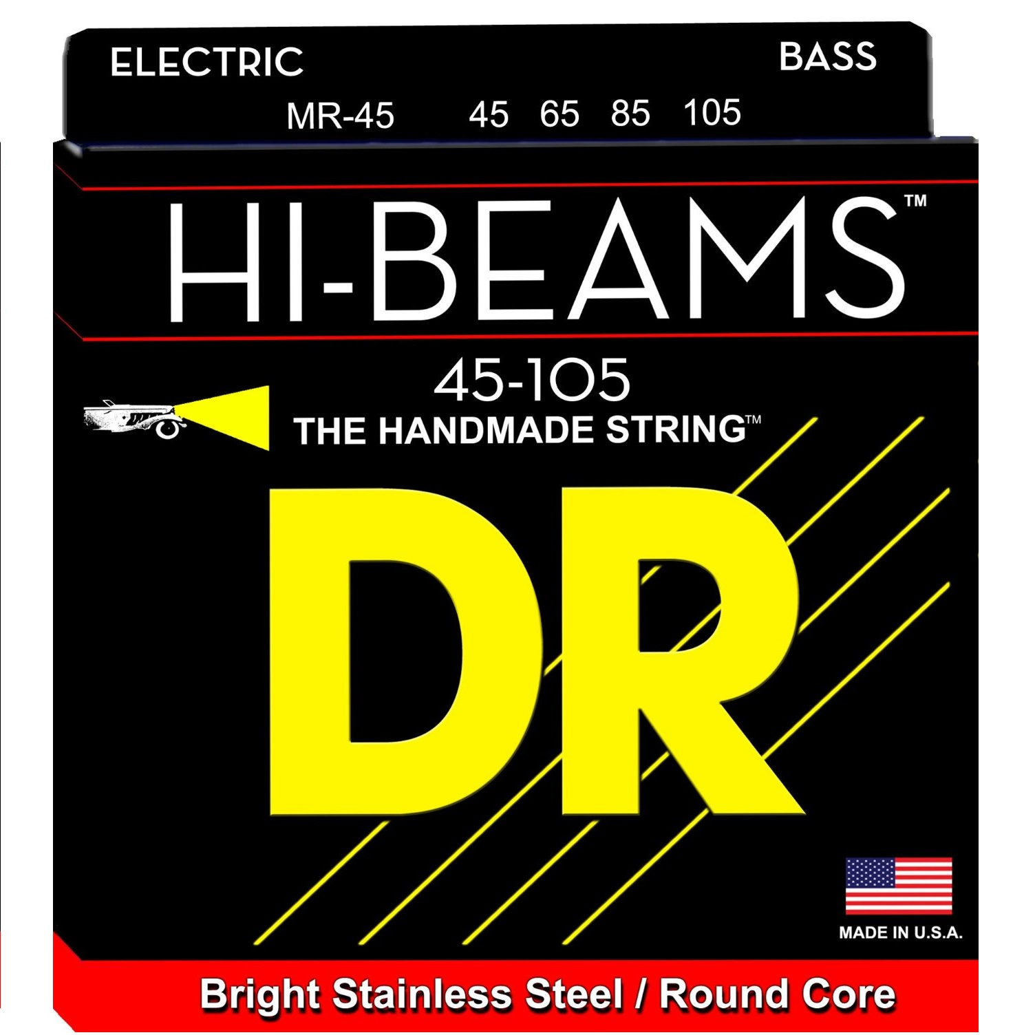DR Strings HI-BEAM™ Stainless Steel Round Core
