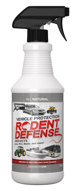 Rodent Defense Natural Repellent for Vehicles
