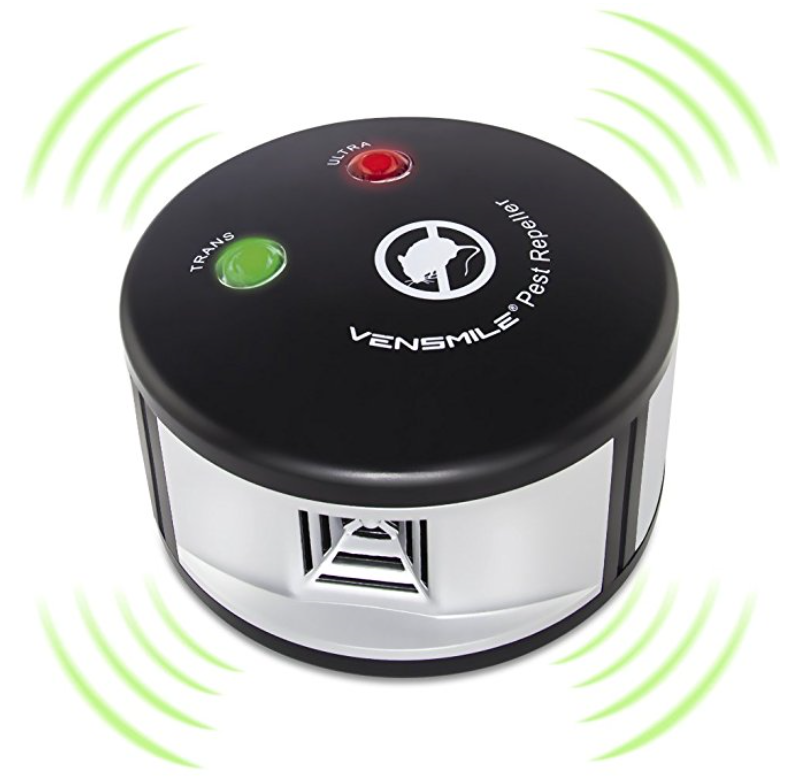 Vensmile Ultrasonic Rodent and Squirrel Repeller for Indoor Use – Also Repels Insects