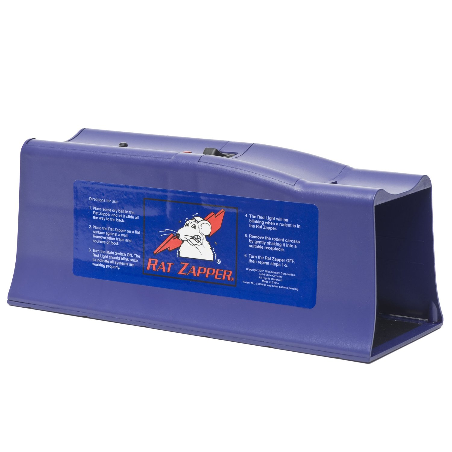 Rat Zapper Classic Humane Trap for Mice and Rats